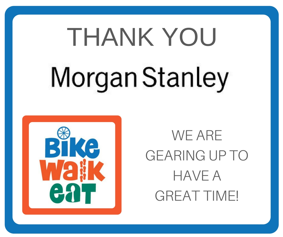 Thank you, Morgan Stanley!